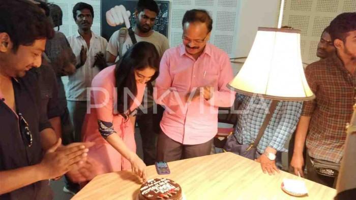 Photos: Regina Cassandra wraps up the shoot of Mr.Chandramouli starring Gautham Karthik