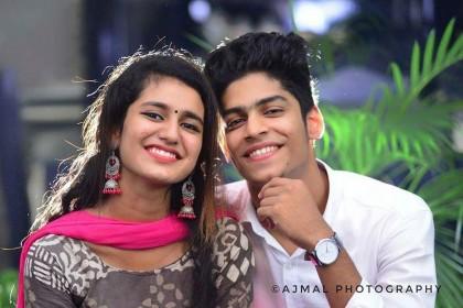 Oru Adaar Love: Priya Prakash Varrier and Roshan Rahoof  make for a picture perfect frame