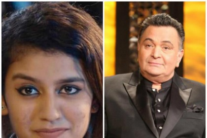 Rishi Kapoor predicts 'huge stardom' for Priya Prakash Varrier