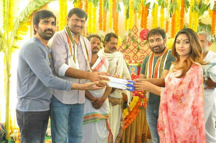 Ravi Teja's Amar Akbar Anthony with Srinu Vytla gets officially launched today