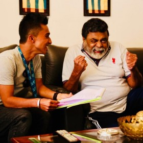 Ambi Ninge Vayassaytho being shot round the clock with Ambareesh and Sudeep