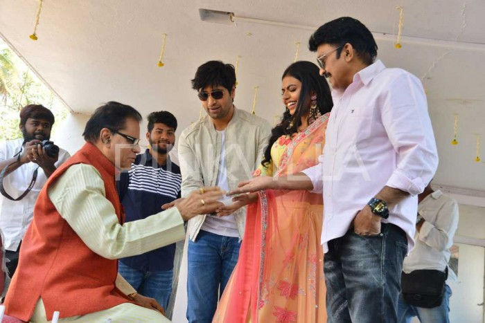 Photos: 2 States starring Adivi Sesh and Shivani Rajasekhar gets launched officially
