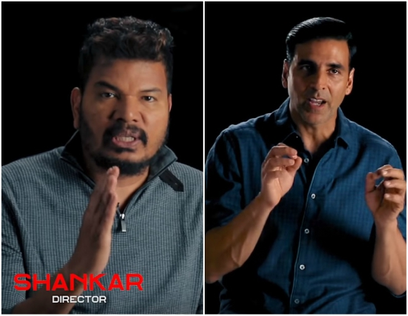 2.0 VFX Featurette: Director Shankar's vision behind the making of the film will blow your mind away