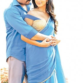 Arvind Swami and Amala Paul look good together in this still from Bhaskar Oru Rascal