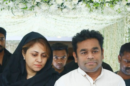 Photos: Stars attend Sridevi's prayer meet in Chennai