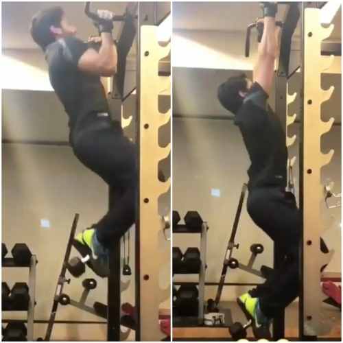 Watch Video: Naga Chaitanya is giving us serious fitness goals in this video shared by Samantha Akkineni
