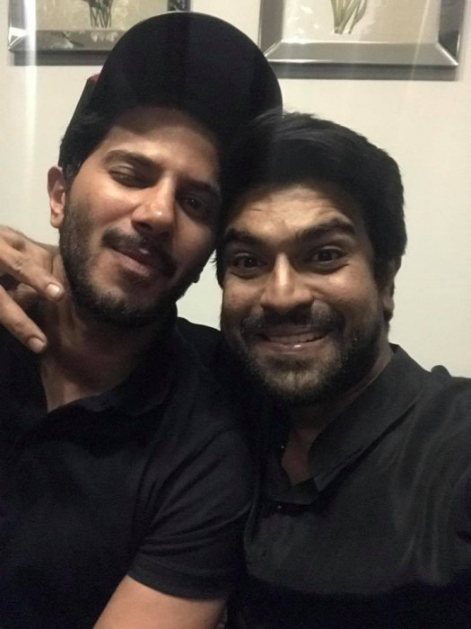 This picture of Ram Charan and Dulquer Salmaan bonding is a feast for the fans of the stars'