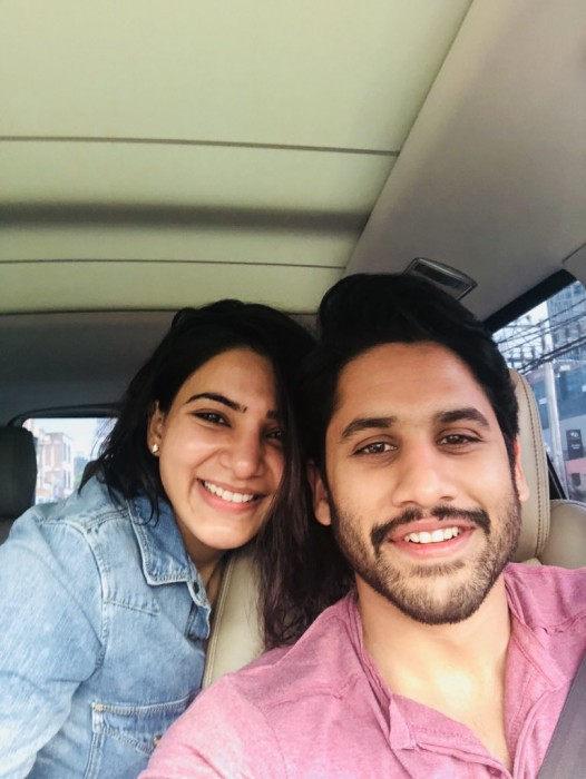 See Pic: Naga Chaitanya and Samantha Akkineni come together for a fun campaign