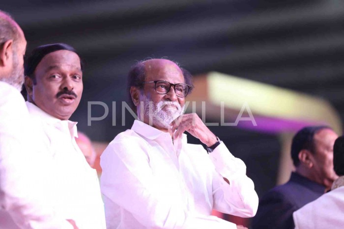 Photos: Superstar Rajinikanth unveils statue of MGR