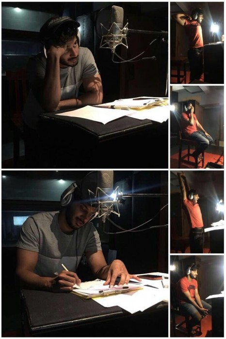 Dulquer Salmaan starts dubbing for debut film Mahanati in Telugu; Says working harder than exams