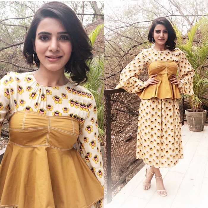 Yay or Nay: Samantha Akkineni in Dhruv Kapoor