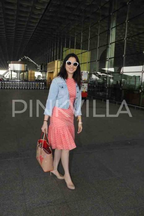 Airport Diaries: Tamannaah Bhatia spotted at the Mumbai airport