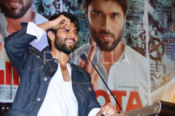 I didn't want to do a Tamil film unless I knew the language, says Vijay Deverakonda about NOTA