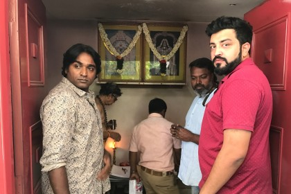 Vijay Sethupathi begins the dubbing process for Junga