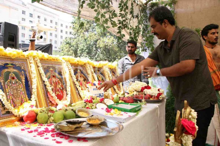 Photos: Actor Karthi's upcoming film with debutante Rajath Ravishankar gets launched officially