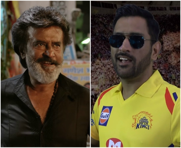 Watch: Rajinikanth's Kaala Teaser featuring CSK players MS Dhoni, Darren Bravo and Murali Vijay is pure gold