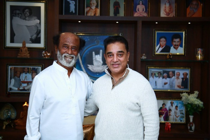 Kamal Haasan: Rajinikanth is silent on the Cauvery dispute and several other issues