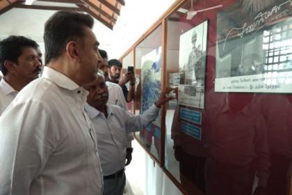 Photos: Kamal Haasan visits the Periyar House