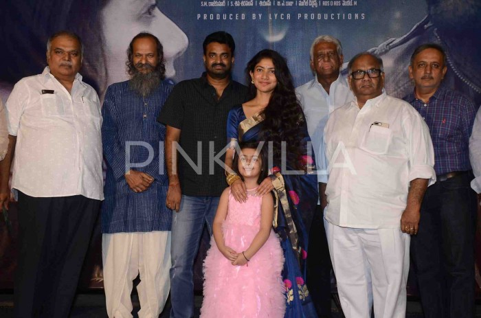 Photos: Sai Pallavi and director AL Vijay attend the pre-release function of Kanam
