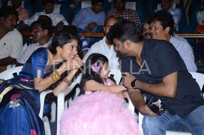 Photos: Sai Pallavi and director AL Vijay attend the pre-release function of Kanam
