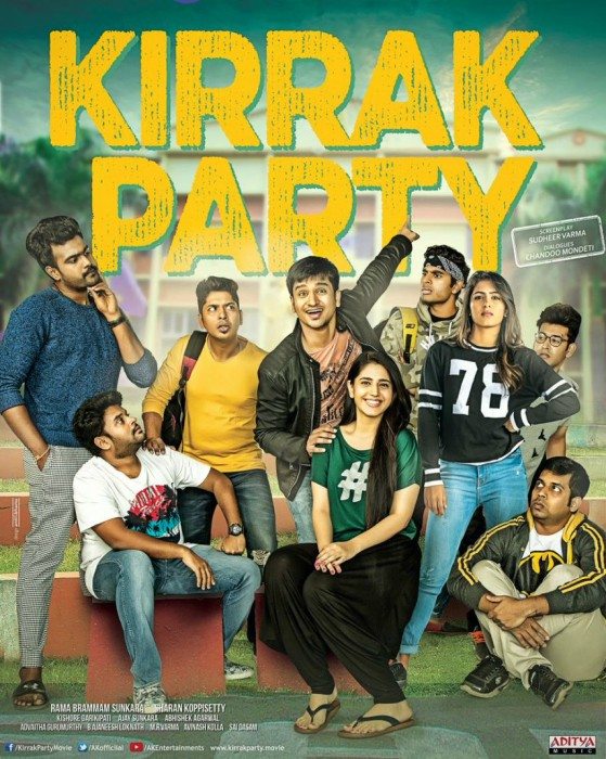 Kirrak Party Movie Review: An entertaining throwback to campus lifestyle