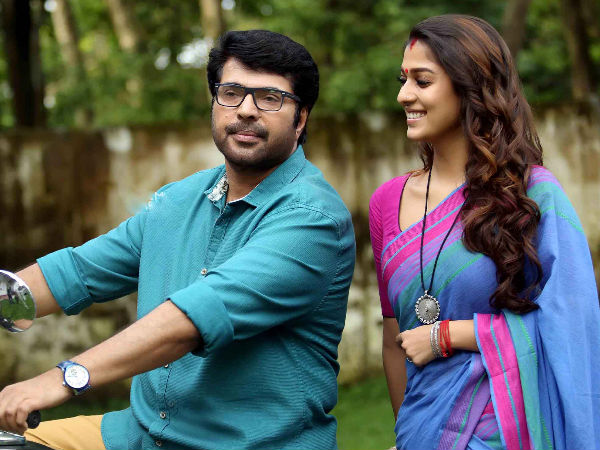 Mammootty and Nayanthatra to come together for the YSR biopic?
