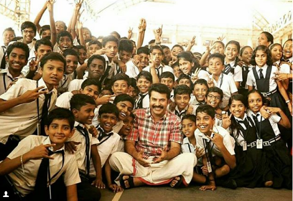 This photo of Mammooty is too good to be missed