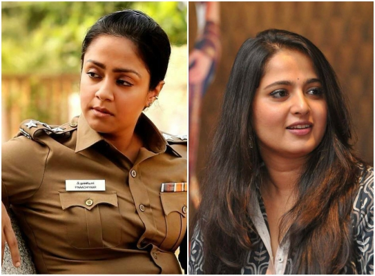 Jyothika's Naachiyaar to be remade in Telugu with Anushka Shetty? Read to know more