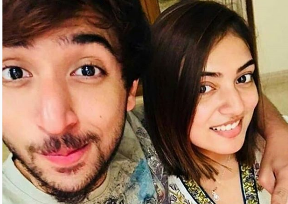 This photo of Nazriya Nazim with her brother will give you sibling goals