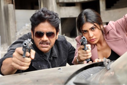 These stills from Officer prove that Nagarjuna has still got the 'it factor'