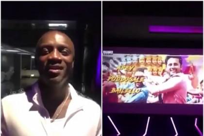 Watch Video: International pop star Akon watches Pedda Puli song from Nithiin's Chal Mohan Ranga