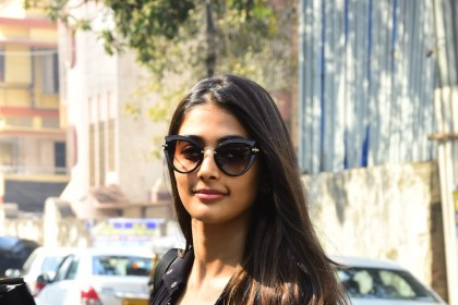 Photos: Pooja Hegde looks fit as a fiddle post a gym session