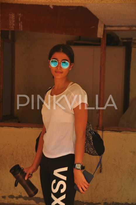 A sultry Pooja Hegde swings into GYM mode