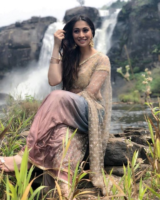 Raai Laxmi is elegance personified in this still from Neeya 2