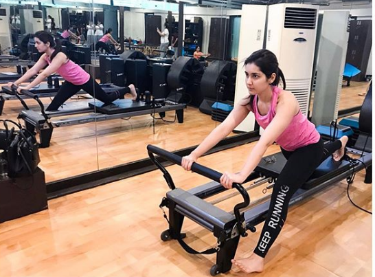 This pic of Raashi Khanna working out will inspire you to hit the gym