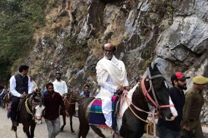 Photos: Rajinikanth continues his spiritual journey in the Himalayas