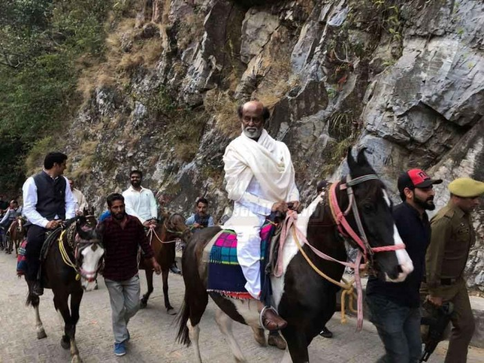 Photos: Rajinikanth continues his spiritual journey in the Himalayas