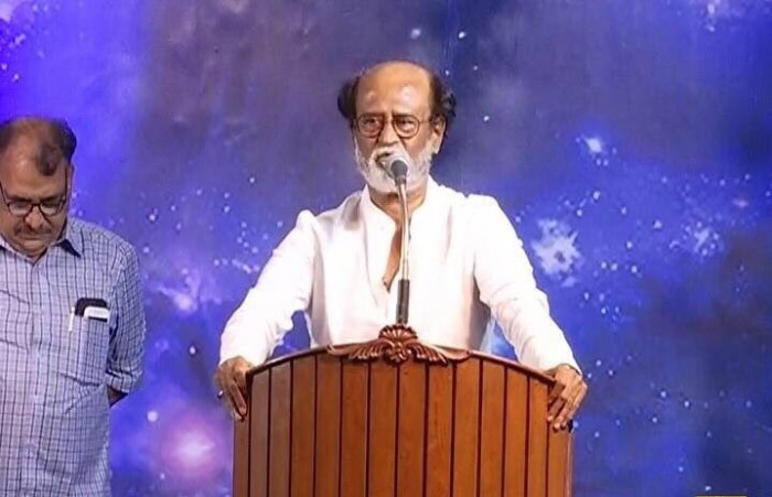 Rajinikanth: I have entered politics because the politicians on Tamil Nadu are not doing their job well