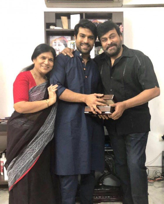 Photos: Ram Charan receives a 'timeless' gift from