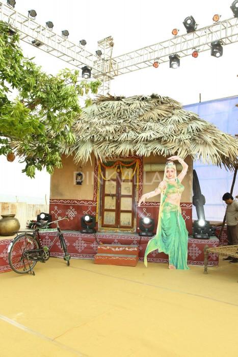 Photos: Mega Star Chiranjeevi graces the pre-release event of Ram Charan's Rangasthalam
