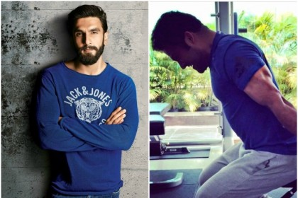 Ranveer Singh makes a special comment on Jr NTR's latest workout picture