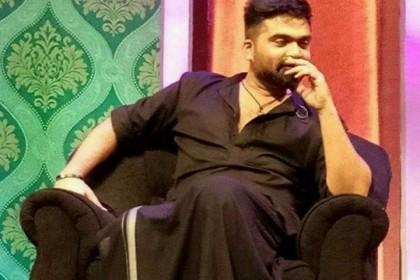 Simbu pays tribute to Rajinikanth, channels his inner Kaala