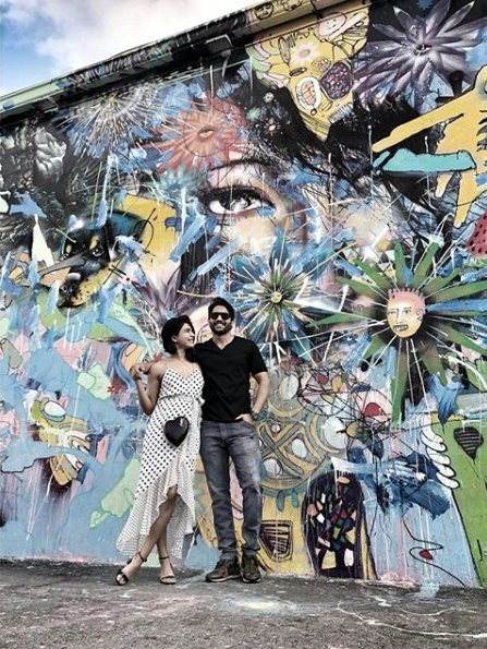 Samantha Akkineni and Naga Chaitanya chill in the US