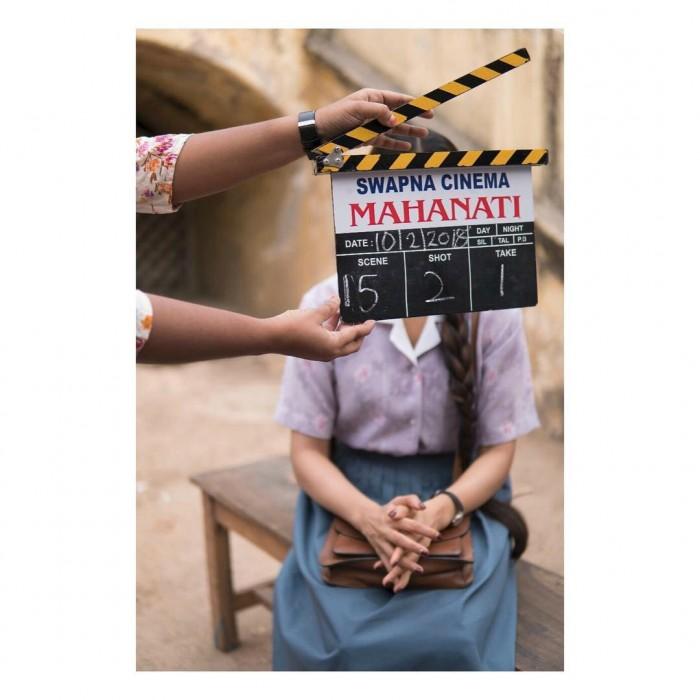 It's a wrap for Samantha Akkineni in Mahanati, the biopic on yesteryear legendary actor Savitri