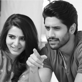 Samantha and Naga Chaitanya make an adorable couple in this pic from a new brand endorsement shoot