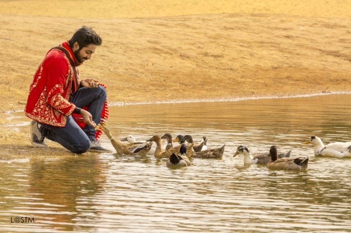 This photo of GV Prakash from his upcoming film Sarvam Thaala Mayam is pleasant as a melody