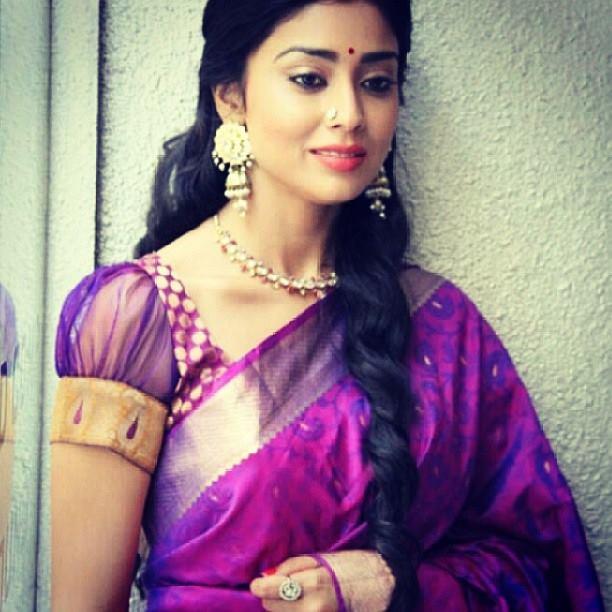 Shriya Saran reacts to rumours of her marrying her Russian beau