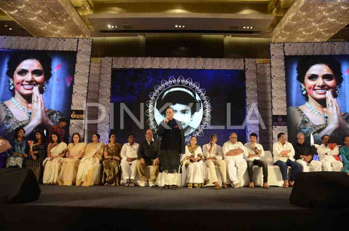 Photos: Telugu film fraternity gathers for condolence meet of actor Sridevi