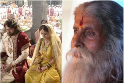 Amitabh Bachchan, Chiranjeevi and Nayanthara look spectacular in these pictures from Sye Raa Narasimha Reddy