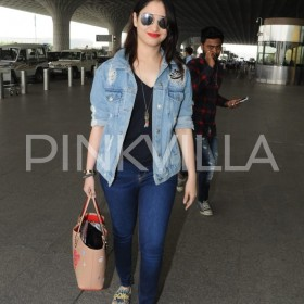 Photos: A gorgeous Tamannaah at the Mumbai airport